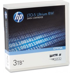 Cinta de Datos HP LTO-5 Ultrium RW de 3TB