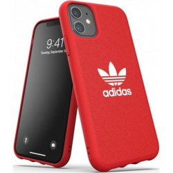 Carcasa para iPhone 11 Adidas Trefoil Snap Rojo