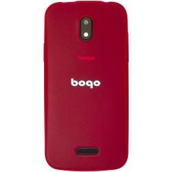 "Carcasa para Smartphone de 4,5"" Bogo LifeStyle Rojo"