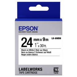Cinta Epson LK-6WBN