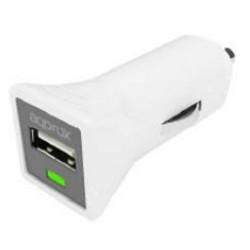 Cargador USB de Coche Approx APPUSBCARW