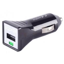 Cargador USB de Coche Approx APPUSBCARB