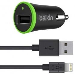 Cargador USB de Coche Belkin Boost Up con Cable Ligthning