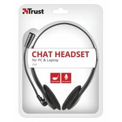 Auricular con Micrófono Trust Ziva Chat