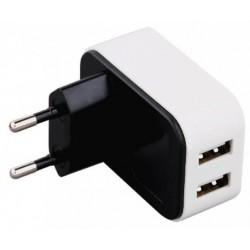 Cargador USB 3GO 2 Puertos 4A